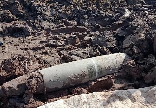 Hải Dương: Phát hiện quả bom nặng 260kg nằm dưới đầm sen - Ảnh 1
