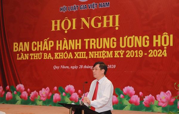 Hội Luật gia Việt Nam có tân Tổng Thư ký - Ảnh 2