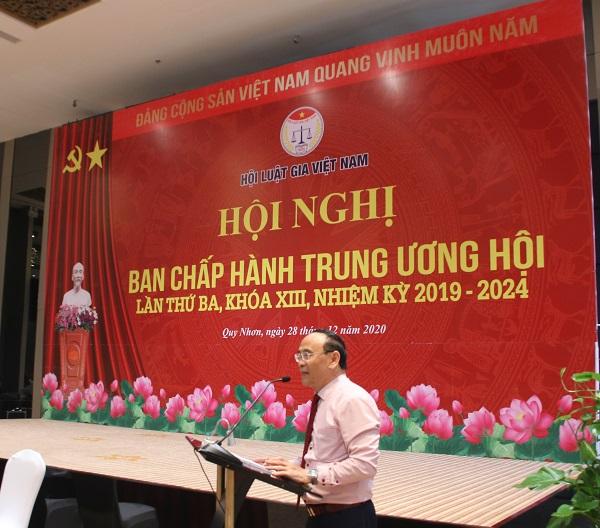 Hội Luật gia Việt Nam có tân Tổng Thư ký - Ảnh 1