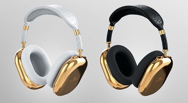 Cận cảnh phiên bản tai nghe AirPods Max mạ vàng siêu sang, giá hơn 2,5 tỷ đồng - Ảnh 1