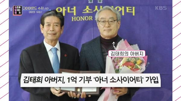 """Gia thế """"khủng"""" của diễn viên Kim Tae Hee: Bất ngờ với danh tính cha ruột nữ diễn viên - Ảnh 2"""