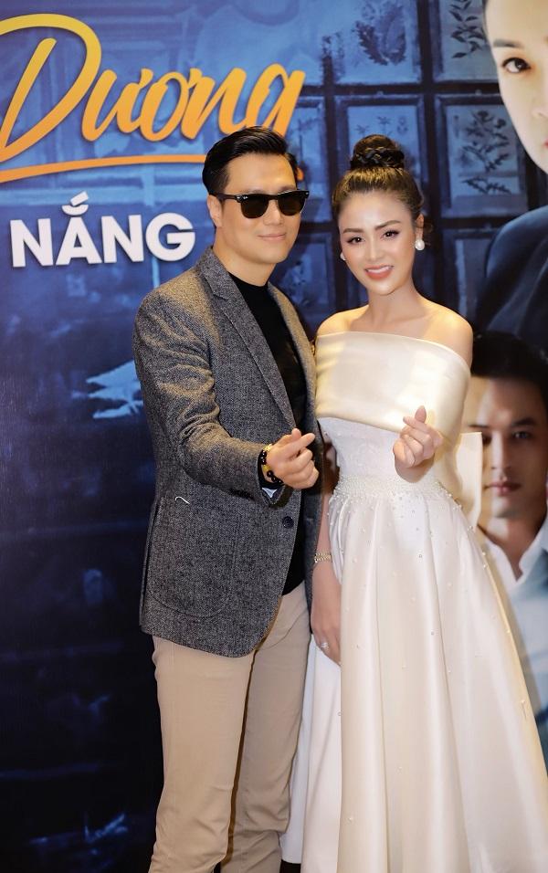 """""""Ngây ngất"""" trước nhan sắc đỉnh cao của Lương Thu Trang trong họp báo phim Hướng Dương Ngược Nắng - Ảnh 1"""