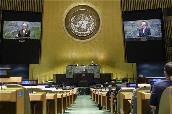 Đại hội đồng LHQ thông qua Nghị quyết về chống dịch bệnh do Việt Nam đề xuất, thương lượng - Ảnh 1