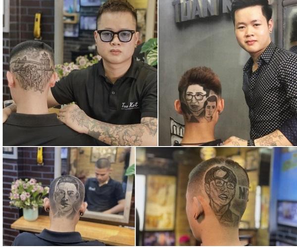 """Chàng trai quê Nghệ An lên báo nước ngoài nhờ khả năng """"điêu khắc trên tóc siêu ảo diệu"""" - Ảnh 2"""