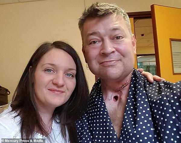 Người đàn ông bất ngờ lên chức bố của cặp song sinh sau 3 năm qua đời vì ung thư vòm họng - Ảnh 1