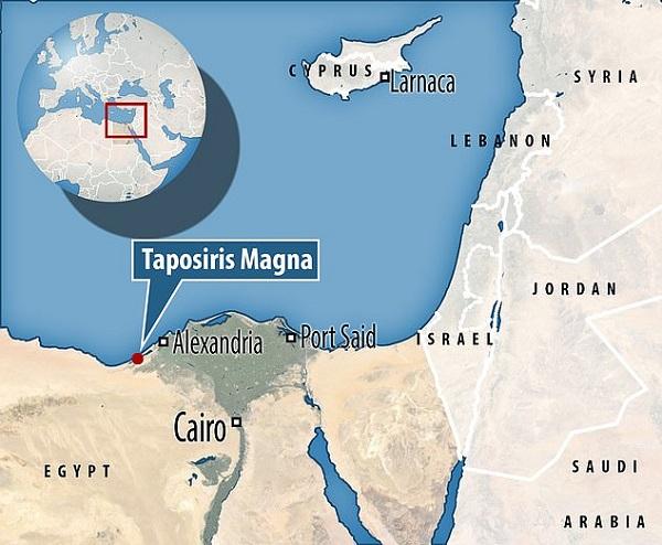 Tìm thấy hai xác ướp phủ kín vàng trong ngôi đền cổ, hé lộ nơi an táng bí mật của nữ vương Ai Cập Cleopatra - Ảnh 3