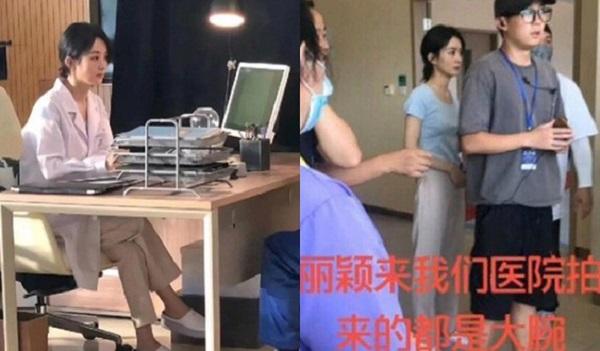 Triệu Lệ Dĩnh xuất hiện xinh đẹp trong hậu trường phim mới nhưng đây mới là điều khiến fan chú ý và không khỏi xót xa  - Ảnh 1