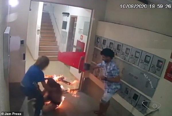 Mẫu nữ Brazil bất ngờ bốc cháy như ngọn đuốc sau trận cãi nhau với người yêu - Ảnh 2