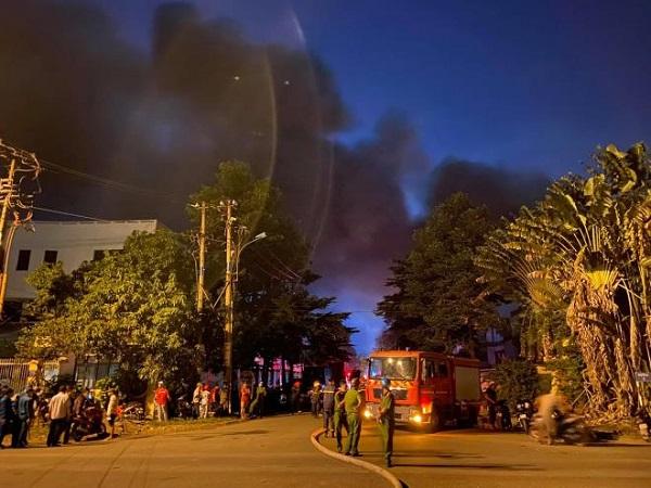 TP. HCM: Cháy lớn trong khu công nghiệp Tân Tạo - Ảnh 2