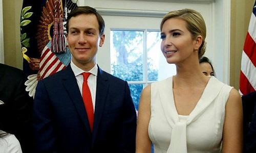Chuyện tình ngọt ngào nhưng nhiều thăng trầm của vợ chồng Ivanka Trump và Jared Kushner - Ảnh 1