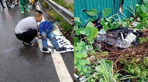 Hà Nội: Chạy xe không quan sát, nam thanh niên bị tàu hỏa tông chết - Ảnh 1