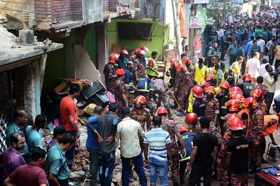 Bangladesh: Thêm nhiều nạn nhân thiệt mạng trong vụ nổ khí ga tại nhà thời Hồi giáo - Ảnh 2