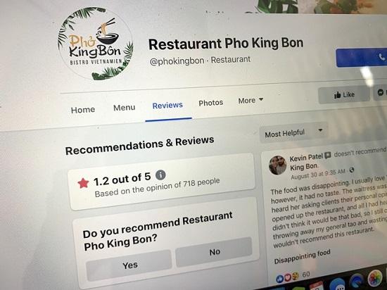 Nhà hàng Canada bị kêu gọi tẩy chay vì chế giễu món phở Việt Nam - Ảnh 1