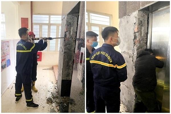 Tai nạn thang máy ở Quảng Ninh, một nam nhân viên tử vong - Ảnh 1