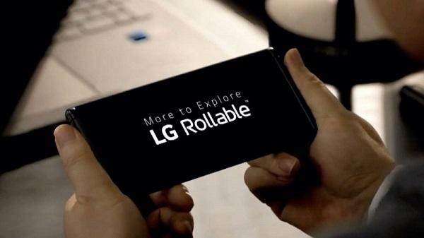 """Tin tức công nghệ mới nóng nhất hôm ny 14/1: LG """"nhá hàng"""" smartphone màn hình cuộn LG Rollable - Ảnh 1"""