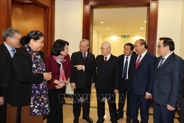 Hội nghị lần thứ 15 Ban Chấp hành Trung ương Đảng thành công tốt đẹp - Ảnh 4