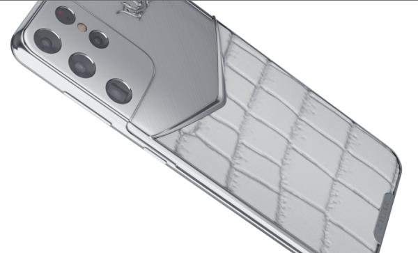 Cận cảnh loạt phiên bản siêu độc của Galaxy S21 Ultra: Ấn tượng với chiếc gắn đầu bò vàng mắt kim cương - Ảnh 4