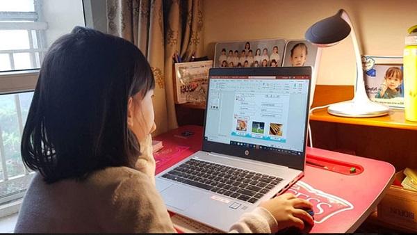Các trường trên địa bàn Hà Nội tổ chức dạy học trực tuyến - Ảnh 1