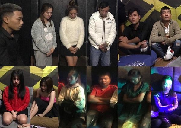 Thừa Thiên Huế: Đột kích nhà nghỉ, phát hiện 29 thanh niên dương tính với ma túy - Ảnh 1