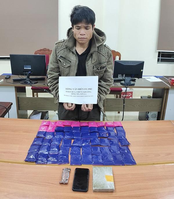 Sơn La: Bắt giữ người đàn ông mua bán trái phép số lượng lớn ma túy - Ảnh 1