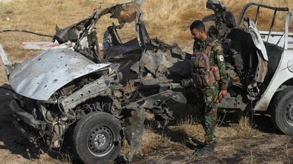 Xe bom phát nổ ở Iraq, ít nhất 5 nhân viên an ninh tử vong - Ảnh 1