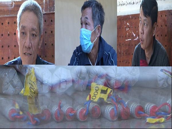 Lai Châu: Bắt giữ 3 người đàn ông mua bán trái phép 13kg thuốc nổ công nghiệp - Ảnh 1