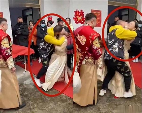 Cô dâu bị khách mời cưỡng hôn ngay trong lễ cưới, chú rể không tức giận mà có phản ứng gây phẫn nộ - Ảnh 1