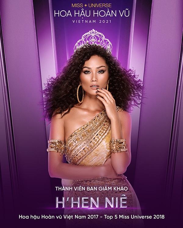 H'Hen Niê trở thành giám khảo của Hoa hậu Hoàn vũ Việt Nam 2021 - Ảnh 1