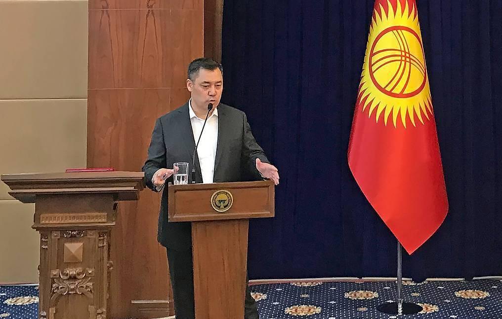 Tân thủ tướng Kyrgyzstan nhận chức, cam kết đưa đất nước khỏi khủng hoảng  - Ảnh 1