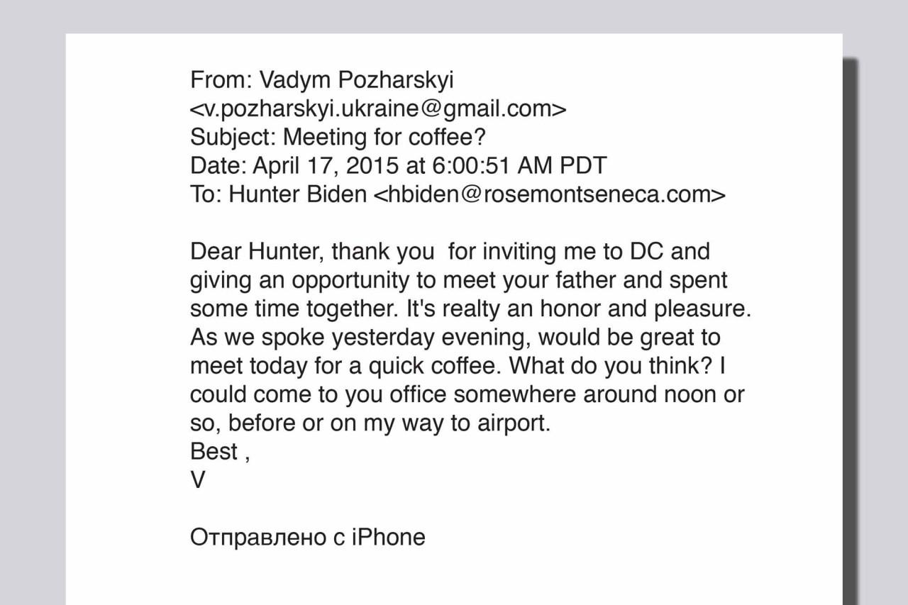 """Bầu cử Mỹ 2020: Lộ bằng chứng về """"mặt tối"""" của cha con ông Joe Biden tại Ukraine - Ảnh 2"""