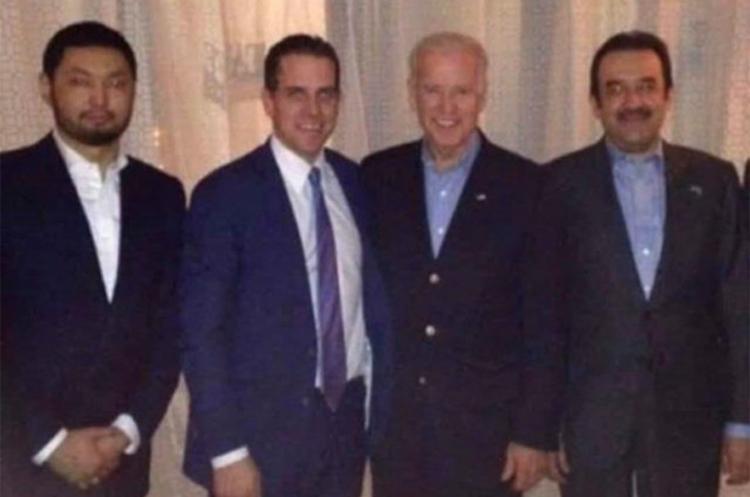 Bê bối nhà ông Joe Biden: Lộ ảnh nghi chụp từ cuộc gặp bí mật giữa cựu phó tổng thống Mỹ với đối tác của con trai - Ảnh 1