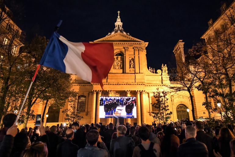 Vụ thầy giáo Pháp bị sát hại: Đối tượng khủng bố từng liên hệ với phần tử khủng bố ở Syria - Ảnh 1