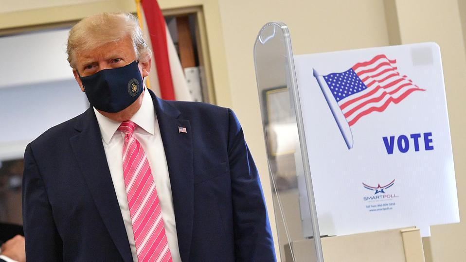 """Tổng thống Mỹ: """"Tôi mới bầu cho một người tên Trump"""" - Ảnh 1"""