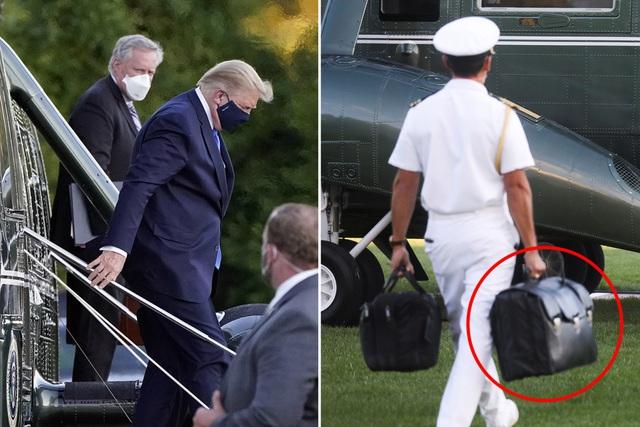 """""""Vật bất ly thân"""" được Tổng thống Trump đem theo vào bệnh viện là gì? - Ảnh 2"""
