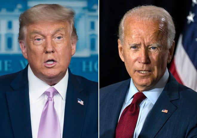 Phản ứng đối lập giữa ông Donald Trump và ông Joe Biden đối với cuộc tranh luận tiếp theo - Ảnh 1