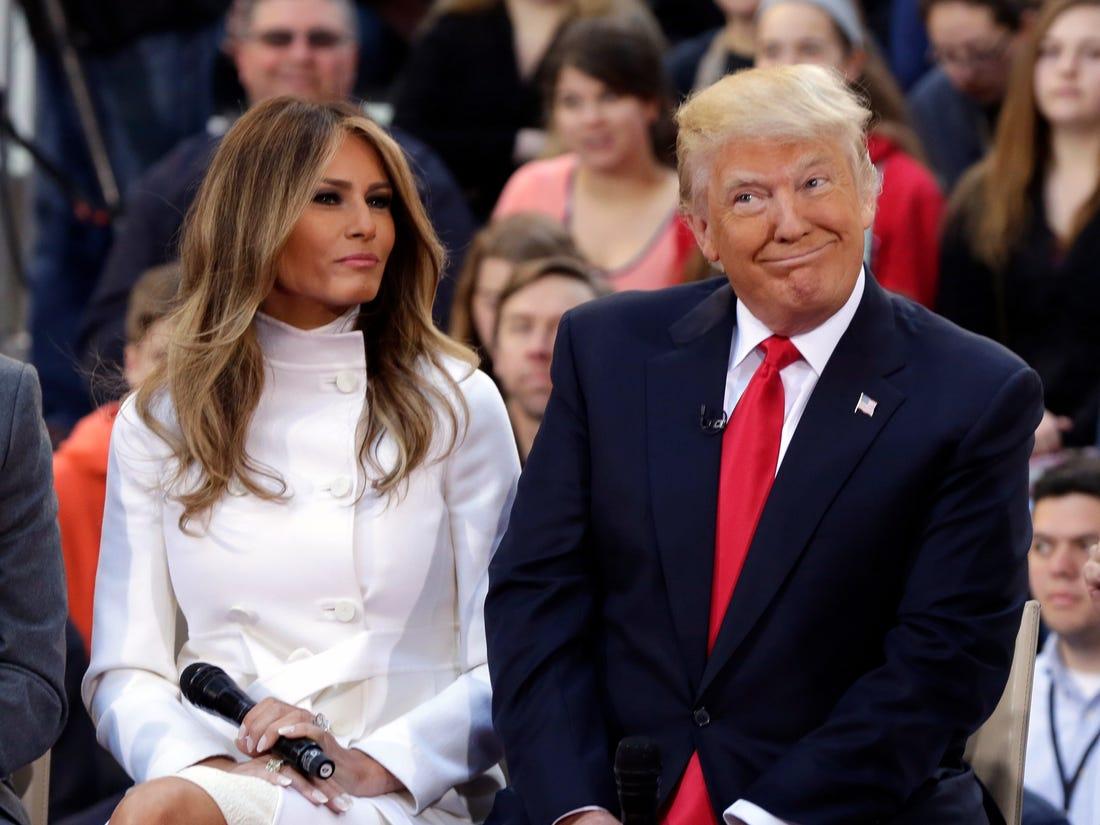 5 lần hiếm hoi Đệ nhất phu nhân Melania Trump bất đồng quan điểm với chồng - Ảnh 1