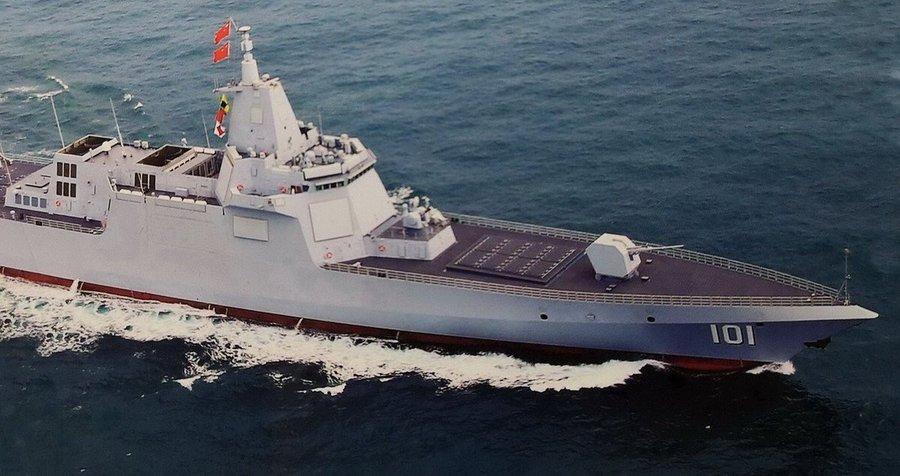 Chiến hạm Nam Xương - Tàu khu trục tên lửa lớn thứ hai thế giới  - Ảnh 1