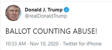 Tổng thống Trump tiếp tục khẳng định chiến thắng sẽ đến trong tuần tới  - Ảnh 3