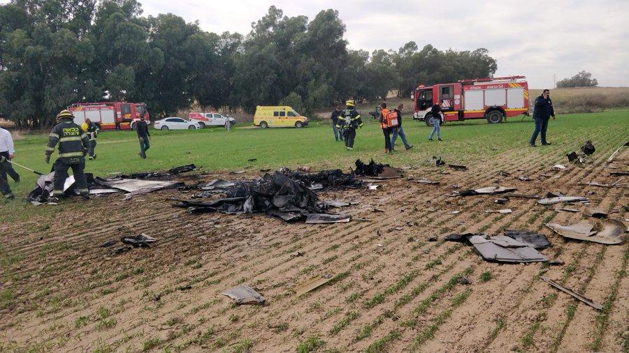 Máy bay huấn luyện của Israel gặp nạn, cả học viên và người hướng dẫn tử vong - Ảnh 2