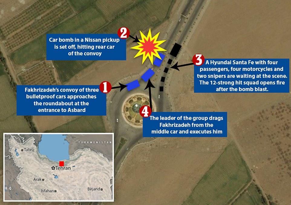 Hé lộ chi tiết vụ ám sát vỏn vẹn 3 phút nhằm vào nhà khoa học hạt nhân Iran  - Ảnh 2