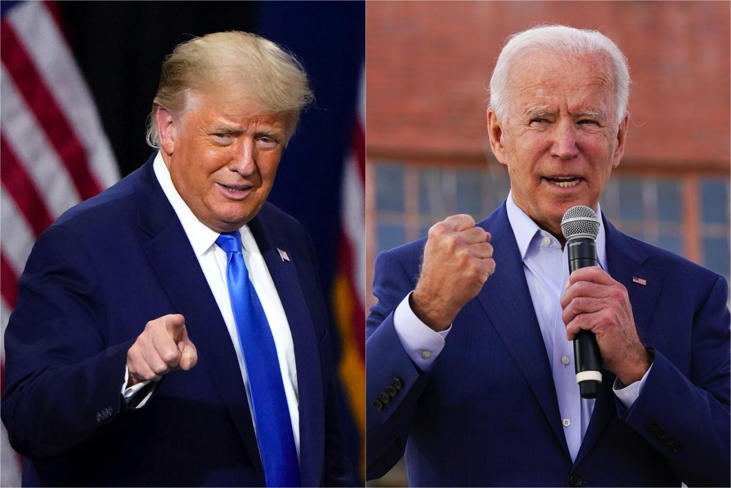 Bầu cử Mỹ 2020: Hai ứng viên tổng thống làm gì trong 24 giờ qua? - Ảnh 1