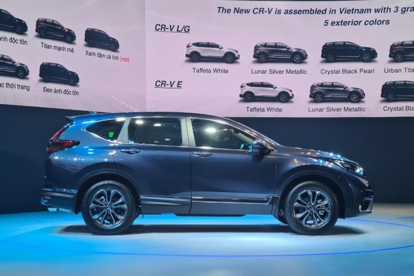"""Bảng giá xe ô tô Honda tháng 11/2020: Honda CR-V ưu đãi """"khủng"""" lên tới 90-160 triệu đồng - Ảnh 2"""