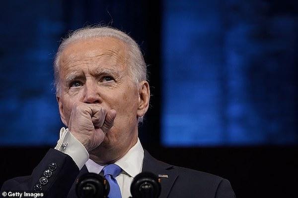 Video: Ông Joe Biden ho liên tiếp trong bài phát biểu quan trọng - Ảnh 1