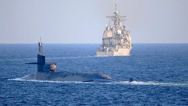 Tin tức quân sự mới nhất ngày 22/12: Mỹ đưa tàu ngầm mang 154 tên lửa dẫn đường vào Vịnh Ba Tư - Ảnh 1