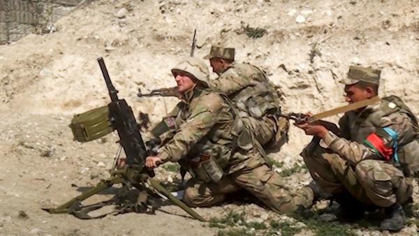 Một binh sĩ bị sát hại trong khu vực thuộc kiểm soát của Azerbaija tại Nagorno-Karabakh - Ảnh 1
