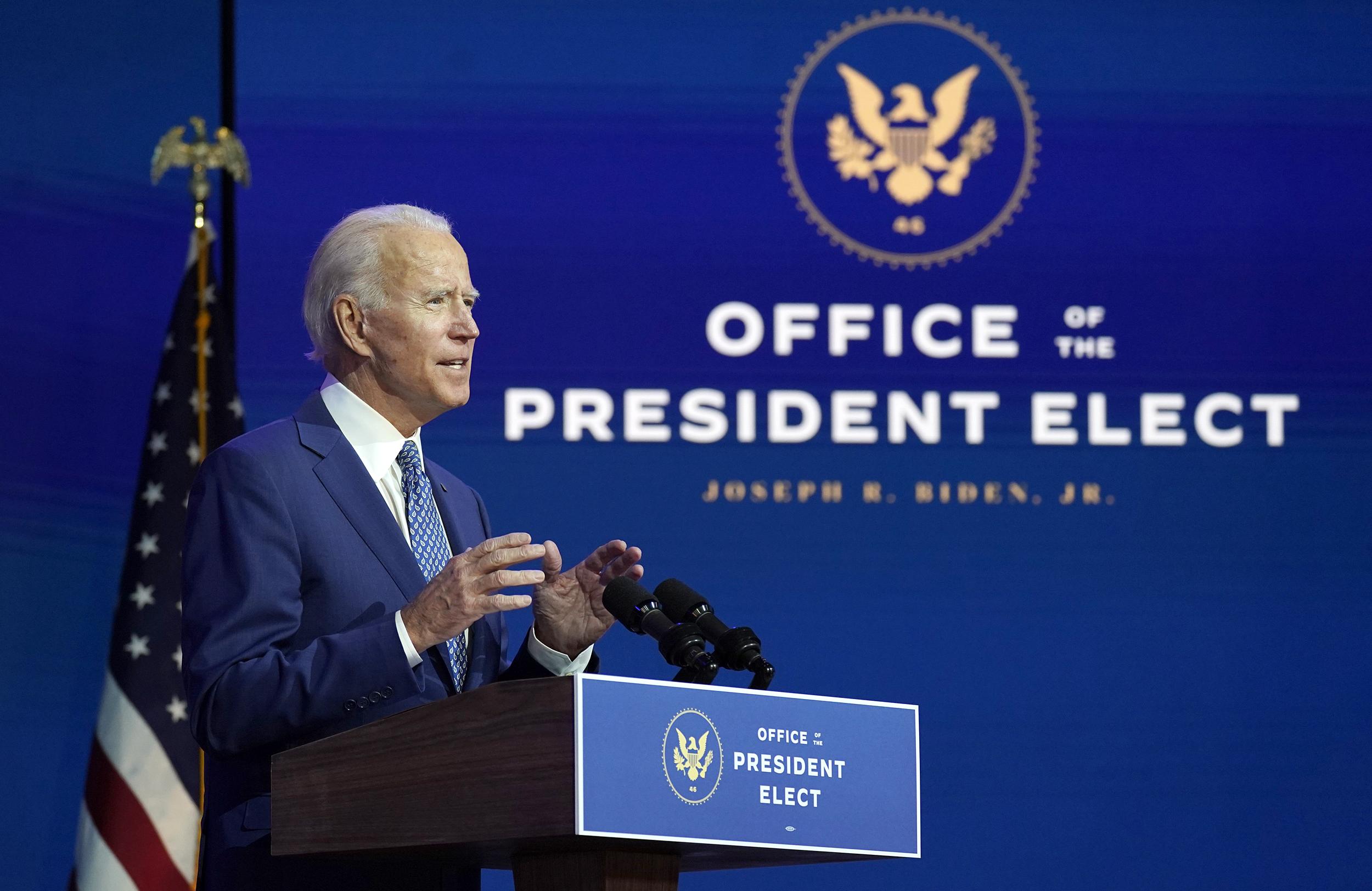 Ông Joe Biden mong Tổng thống Trump tới dự lễ nhậm chức vào tháng 1 - Ảnh 1