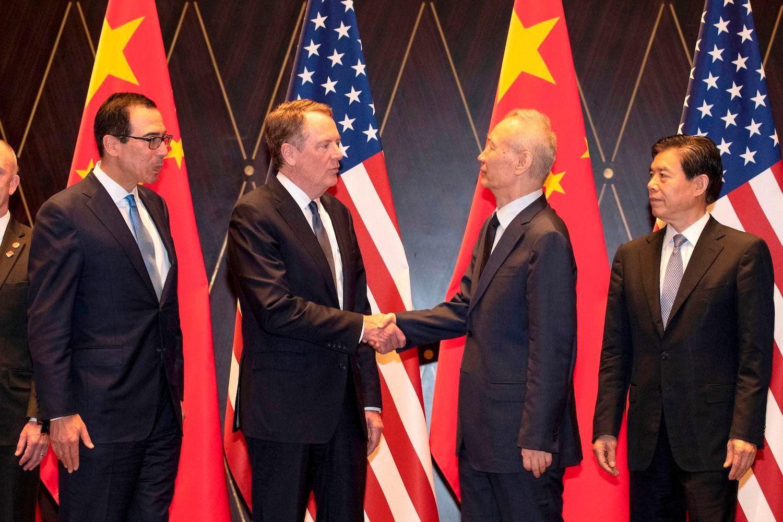 Mỹ - Trung lạc quan sau cuộc điện đàm về thỏa thuận thương mại giai đoạn 1 - Ảnh 1