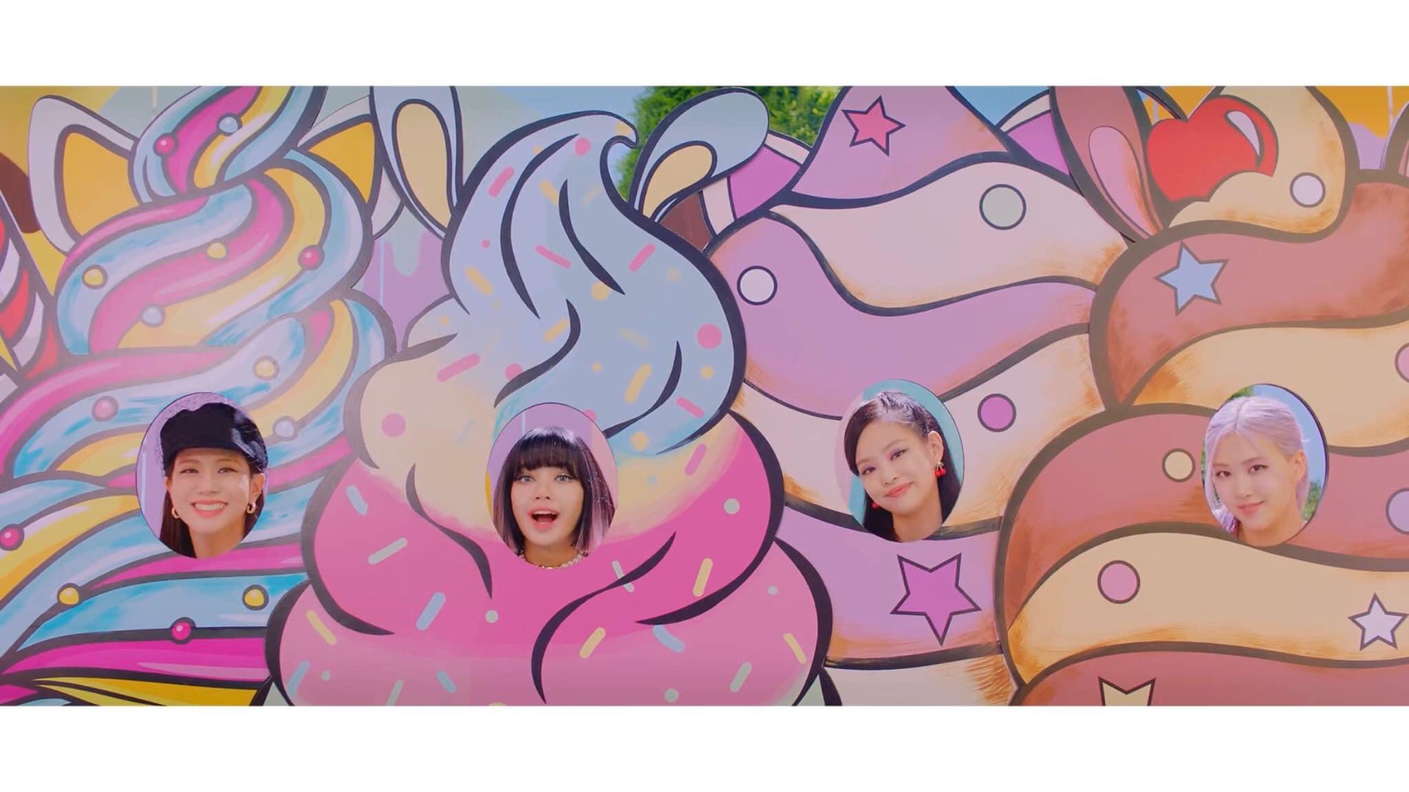 """BlackPink """"nhá hàng"""" MV teaser ca khúc hợp tác với Selena Gomez, khoe nhan sắc ngọt lịm - Ảnh 1"""