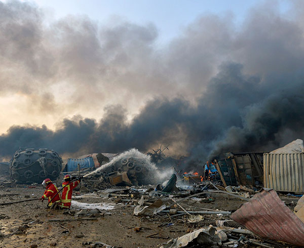 Sức tàn phá của vụ nổ ở Lebanon gây ra địa chấn tương đương trận động đất 3,3 độ richter - Ảnh 2