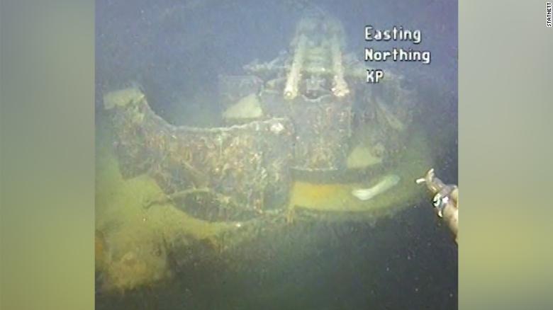 Tìm thấy xác tàu chiến thời Đức Quốc xã sau 80 năm - Ảnh 1